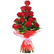 25 red roses for a man - flowers and bouquets on salonroz.com