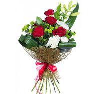Бізнес букет із лілією - цветы и букеты на salonroz.com