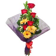 A bouquet of flowers for a man - flowers and bouquets on salonroz.com