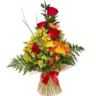 Bouquet for business partners - flowers and bouquets on salonroz.com