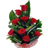 Bouquet for a man for a birthday - flowers and bouquets on salonroz.com