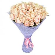 Bouquet of 39 Cream Roses - flowers and bouquets on salonroz.com
