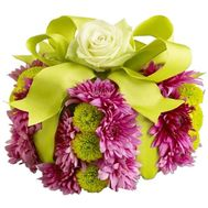 Flower cake - flowers and bouquets on salonroz.com