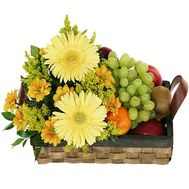 Fruit Basket - Summer Garden - flowers and bouquets on salonroz.com