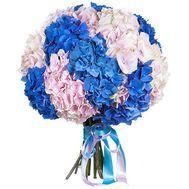 Модный букет гортензий - цветы и букеты на salonroz.com