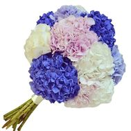 An excellent bouquet of hydrangeas - flowers and bouquets on salonroz.com