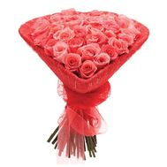 Heart of Coral Roses - flowers and bouquets on salonroz.com