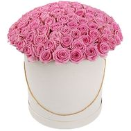 Hat of 101 Roses - flowers and bouquets on salonroz.com