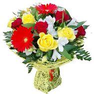 Прекрасный букет на День Рождение - цветы и букеты на salonroz.com