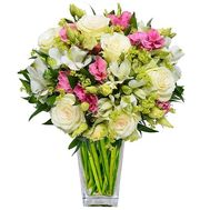 Delicate bouquet for mom - flowers and bouquets on salonroz.com