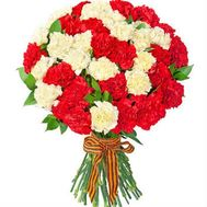 Bouquet of 55 Multicolored Carnations - flowers and bouquets on salonroz.com