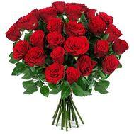 Букет из 31 красной розы - цветы и букеты на salonroz.com