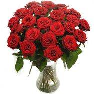 Bouquet of 25 red roses - flowers and bouquets on salonroz.com