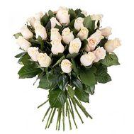 Букет із 31 кремовою троянди - цветы и букеты на salonroz.com