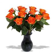 Bouquet of 11 orange roses - flowers and bouquets on salonroz.com