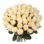 Bouquet of 45 Cream Roses - flowers and bouquets on salonroz.com