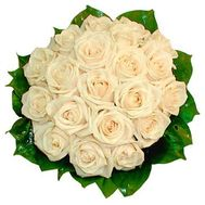 Bouquet of 19 Cream Roses - flowers and bouquets on salonroz.com