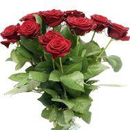 Букет із 15 червоних троянд - цветы и букеты на salonroz.com