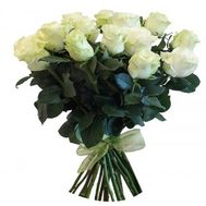 Bouquet of 23 white roses - flowers and bouquets on salonroz.com