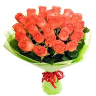 Bouquet of 19 orange roses - flowers and bouquets on salonroz.com