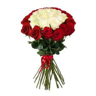 Bouquet of 25 import roses - flowers and bouquets on salonroz.com