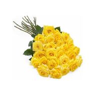 Bouquet of 25 yellow roses - flowers and bouquets on salonroz.com