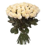 Bouquet of 51 Cream Roses - flowers and bouquets on salonroz.com