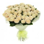 Bouquet of 55 Cream Roses - flowers and bouquets on salonroz.com