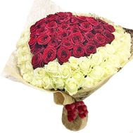 Bouquet of 101 roses - flowers and bouquets on salonroz.com