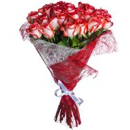 Bouquet of 35 imported roses - flowers and bouquets on salonroz.com