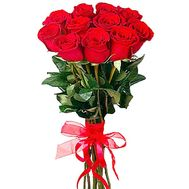 Bouquet of 11 imported roses - flowers and bouquets on salonroz.com