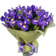 Букет из 45 ирисов - цветы и букеты на salonroz.com