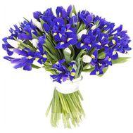 Букет ирисов - Весенние мелодии - цветы и букеты на salonroz.com