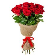 Bouquet of 15 roses - flowers and bouquets on salonroz.com