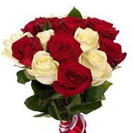 Букет из 17 роз - цветы и букеты на salonroz.com
