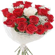 Bouquet of 21 roses - flowers and bouquets on salonroz.com