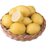 Basket of lemons - flowers and bouquets on salonroz.com