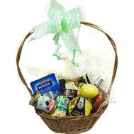 Корзина с продуктами - цветы и букеты на salonroz.com