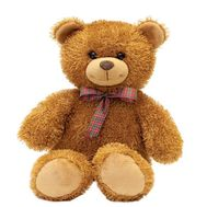 Soft toy Brown bear - flowers and bouquets on salonroz.com