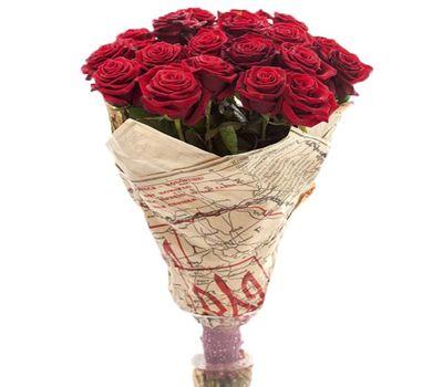 """""""Букет из 19 красных роз"""" в интернет-магазине цветов salonroz.com"""