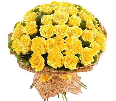 """""""Букет из 51 желтой розы"""" в интернет-магазине цветов salonroz.com"""