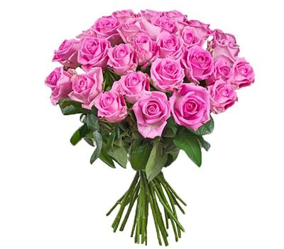 """Bouquet of 31 pink roses"" in the online flower shop salonroz.com"