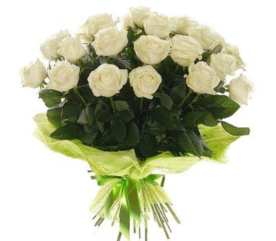 """""""Букет из 19 белых роз"""" в интернет-магазине цветов salonroz.com"""