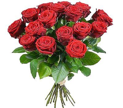 """""""Букет из 17 красных роз"""" в интернет-магазине цветов salonroz.com"""