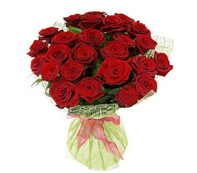 """Bouquet of 27 red roses"" in the online flower shop salonroz.com"