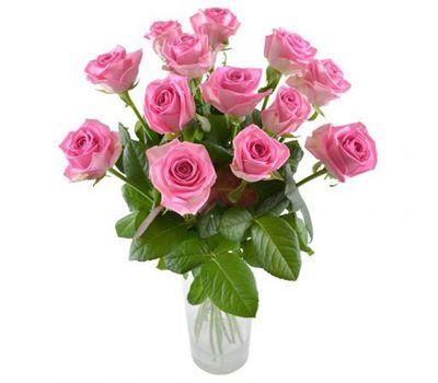 """""""Букет из 13 розовых роз"""" в интернет-магазине цветов salonroz.com"""