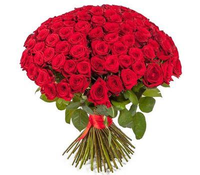 """""""Букет из 101 красной розы"""" в интернет-магазине цветов salonroz.com"""