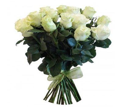 """""""Букет из 23 белых импортных роз"""" в интернет-магазине цветов salonroz.com"""