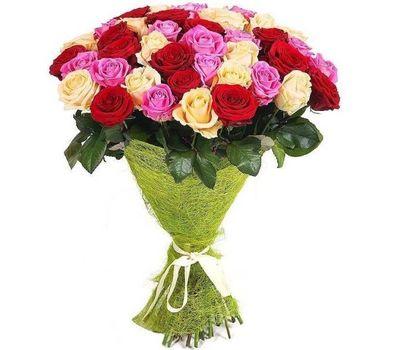"""""""Букет из 35 разноцветных роз"""" в интернет-магазине цветов salonroz.com"""