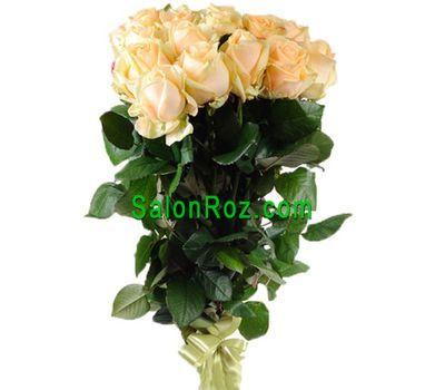 """""""Букет персикових троянд"""" в интернет-магазине цветов salonroz.com"""